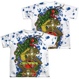 Atari Insect Attack (Front Back Print) Short Sleeve Youth Poly Crew T-Shirt