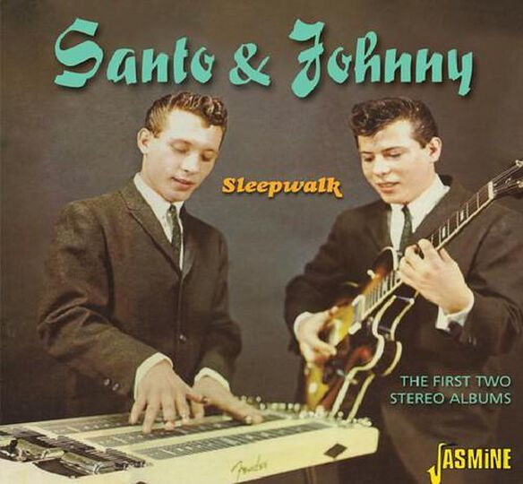 Santo & Johnny - First Two Stereo Albums