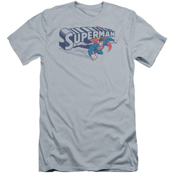 Superman Under Logo Premuim Canvas Adult Slim Fit Light