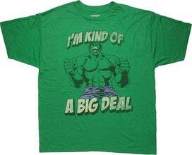 Incredible Hulk Big Deal Distressed T-Shirt