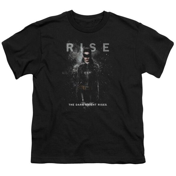 Dark Knight Rises Catwoman Rise Short Sleeve Youth T-Shirt