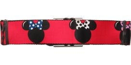 Minnie Mouse Bow Collection Seatbelt Belt