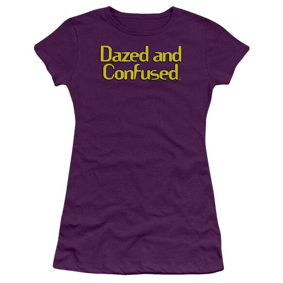 Dazed And Confused Dazed Logo Premium Bella Junior Sheer Jersey