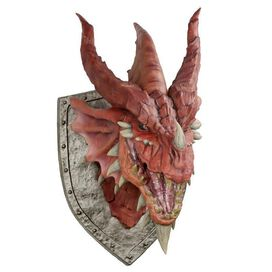 Dungeons & Dragons Red Dragon Trophy Wall Plaque