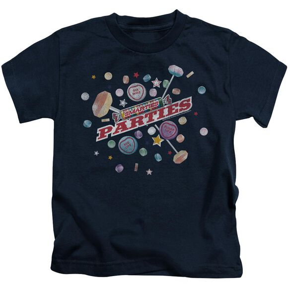 Smarties Parties Short Sleeve Juvenile Navy Md T-Shirt