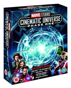 Marvel Studios Cinematic Universe Collector's Edition Box Set - Phase 1 [Blu-ray]