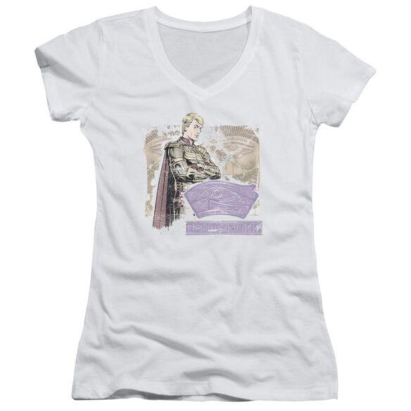 Watchmen Ozymandias Junior V Neck T-Shirt