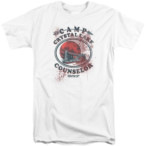 Friday The 13 Th Camp Counselor Victim Short Sleeve Adult Tall T-Shirt