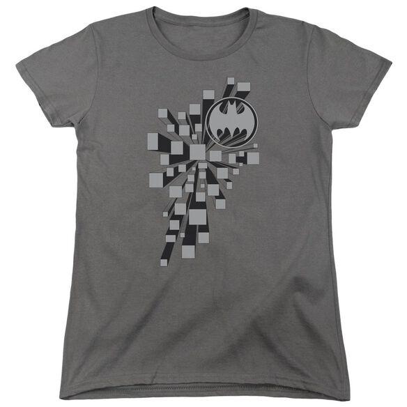 Batman Gotham 3 D Short Sleeve Womens Tee T-Shirt