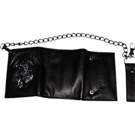 Sons of Anarchy Shiny Metal Logo Wallet