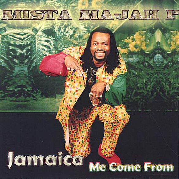 Mista-majah-p - Jamaica Me Come From (CDR)