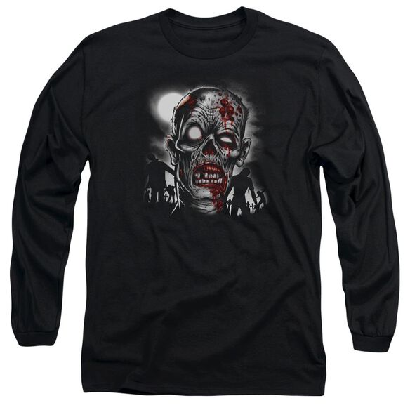 Walking Dead Long Sleeve Adult T-Shirt