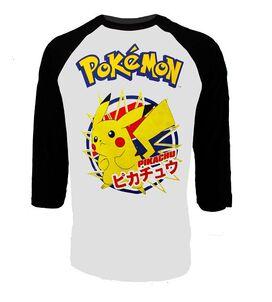 Pikachu Raglan T-Shirt