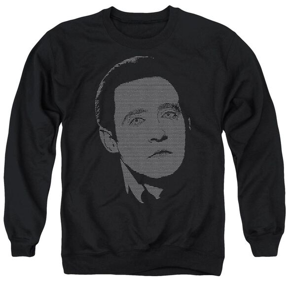 Star Trek Data'S Data Adult Crewneck Sweatshirt