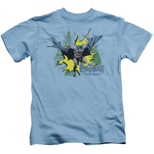 Batman City Splash Short Sleeve Juvenile Carolina T-Shirt