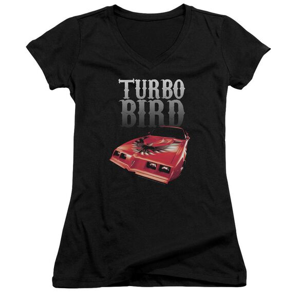 Pontiac Turbo Bird Junior V Neck T-Shirt