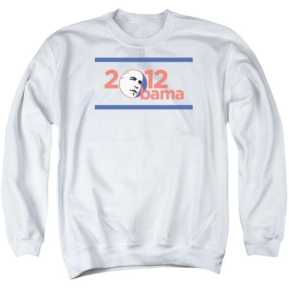 Obama 2012 Adult Crewneck Sweatshirt