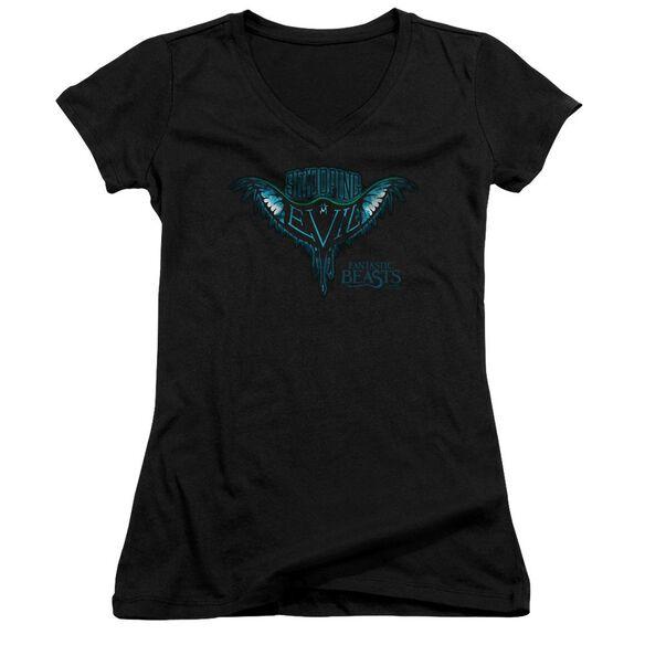 Fantastic Beasts Swooping Evil Junior V Neck T-Shirt