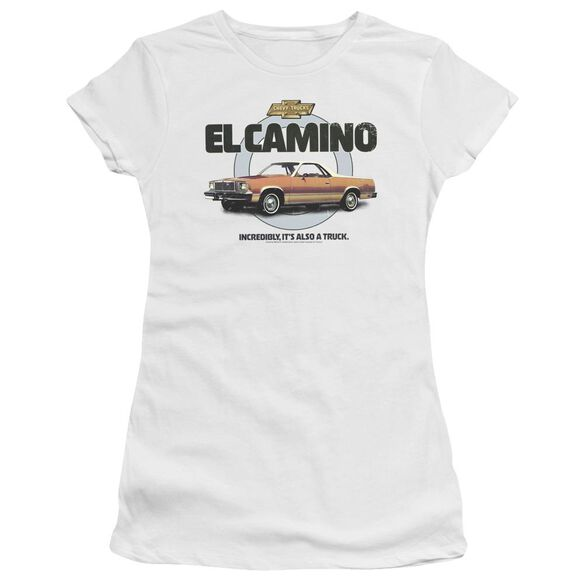 Chevrolet Also A Truck Short Sleeve Junior Sheer T-Shirt