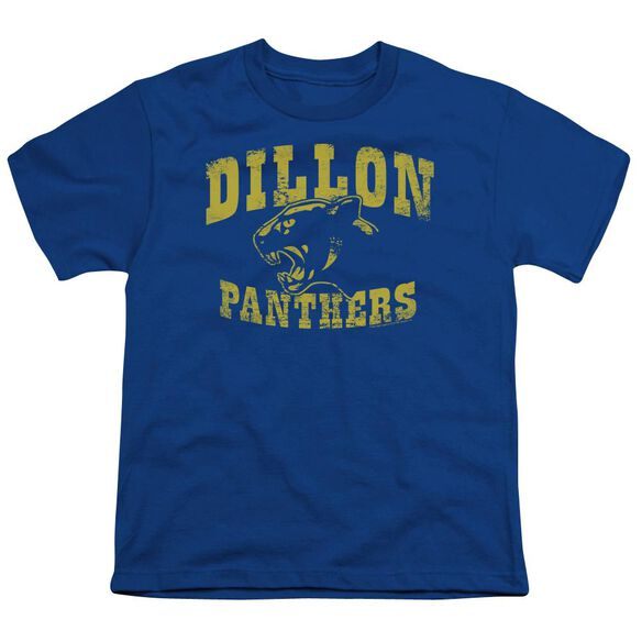 Friday Night Lights Panthers Short Sleeve Youth Royal T-Shirt