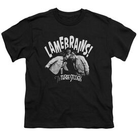 Three Stooges Lamebrains Short Sleeve Youth T-Shirt