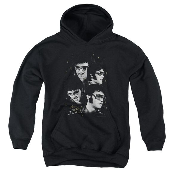 Elvis Presley Faces Youth Pull Over Hoodie
