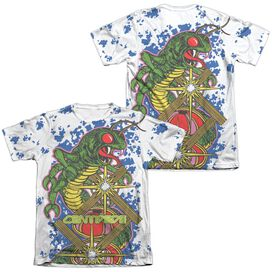 Atari Insect Attack (Front Back Print) Adult Poly Cotton Short Sleeve Tee T-Shirt