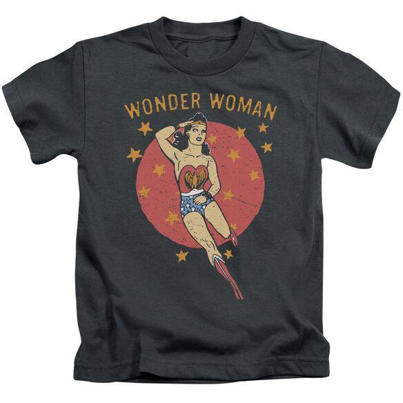 Dc Wonder Circle Short Sleeve Juvenile T-Shirt