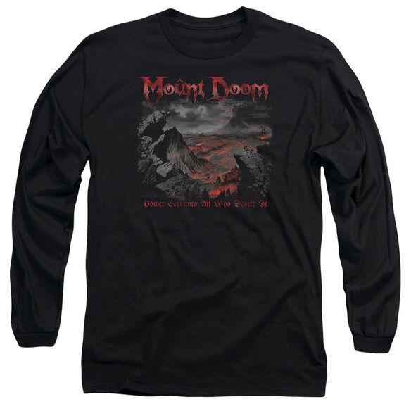Lord Of The Rings Power Corrupts Long Sleeve Adult T-Shirt