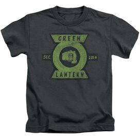 Green Lantern Section Short Sleeve Juvenile T-Shirt