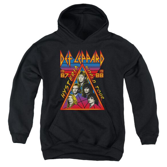 Def Leppard Hysteria Tour Youth Pull Over Hoodie
