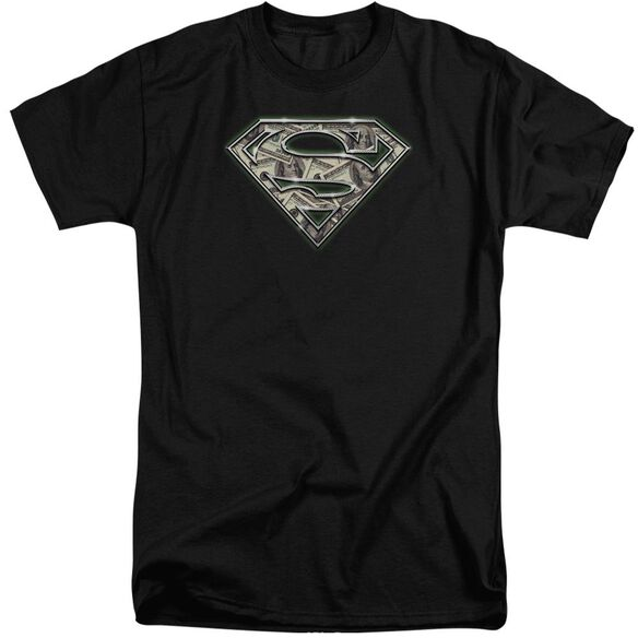 Superman All About The Benjamins Short Sleeve Adult Tall T-Shirt