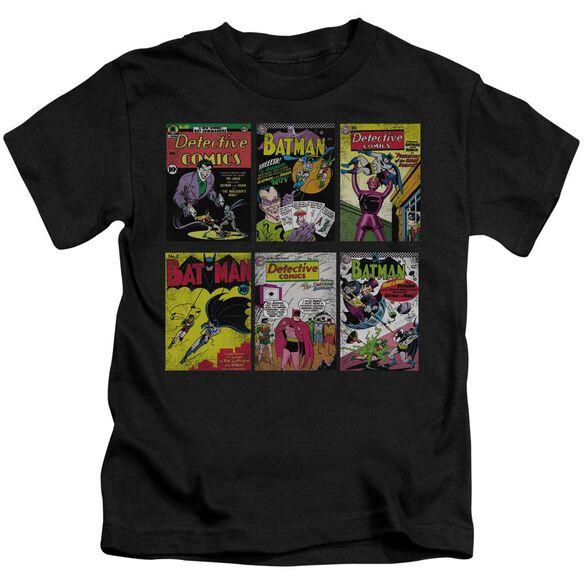 BATMAN BM COVERS - S/S JUVENILE 18/1 - BLACK - T-Shirt