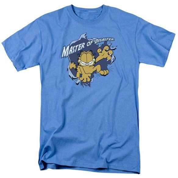 GARFIELD MASTER OF DISASTER - S/S ADULT 18/1 - CAROLINA BLUE T-Shirt