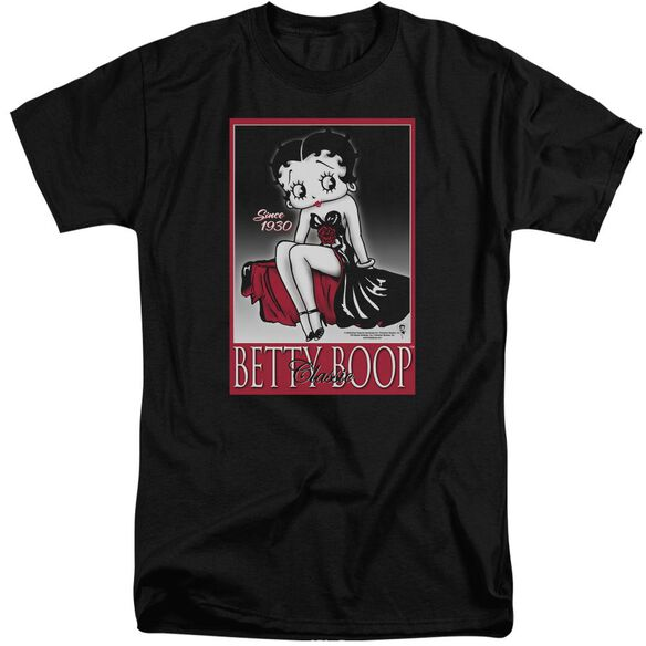 Betty Boop Classic Short Sleeve Adult Tall T-Shirt