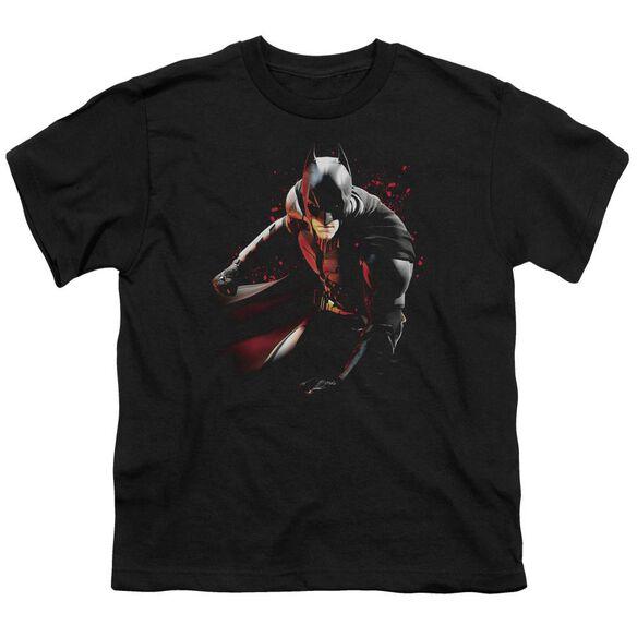 Dark Knight Rises Ready To Punch Short Sleeve Youth T-Shirt