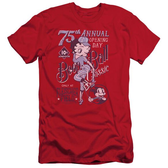 Betty Boop Boop Ball Short Sleeve Adult T-Shirt