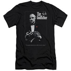 Godfather Poster Short Sleeve Adult T-Shirt