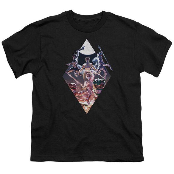 Power Rangers Sdcc Ranger Diamond 2 Short Sleeve Youth T-Shirt