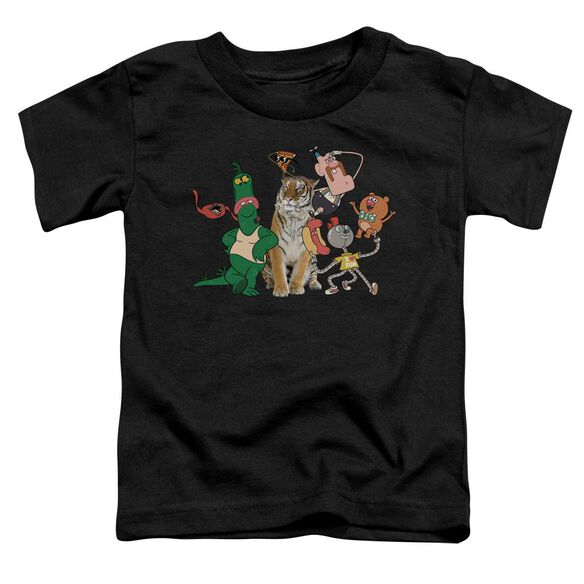 Uncle Grandpa Group Short Sleeve Toddler Tee Black T-Shirt