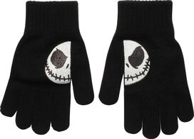 Nightmare Before Christmas Jack Split Smile Gloves