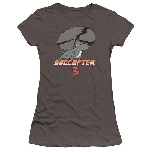 Steven Universe Dogcopter 3 Hbo Short Sleeve Junior Sheer T-Shirt