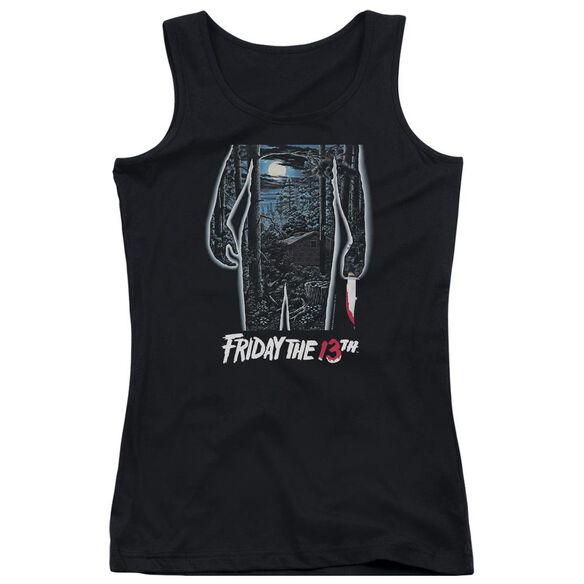 Friday The 13 Th 13 Th Poster Juniors Tank Top