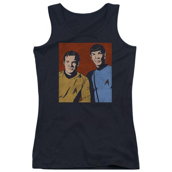 Star Trek Friends Juniors Tank Top