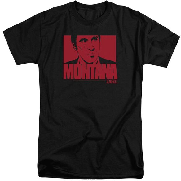 Scarface Montana Face Short Sleeve Adult Tall T-Shirt