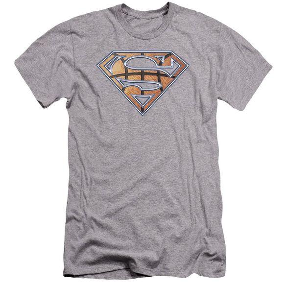 Superman Basketball Shield Premuim Canvas Adult Slim Fit Athletic