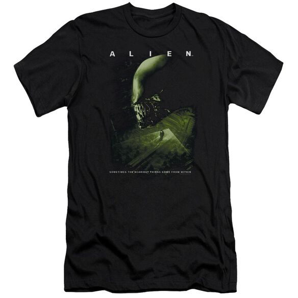 Alien Lurk Premuim Canvas Adult Slim Fit