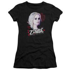Izombie Take A Bite Short Sleeve Junior Sheer T-Shirt