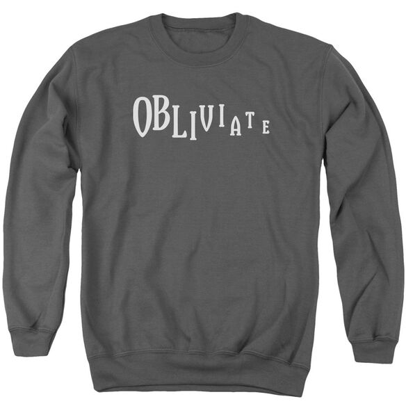 Harry Potter Obliviate Adult Crewneck Sweatshirt