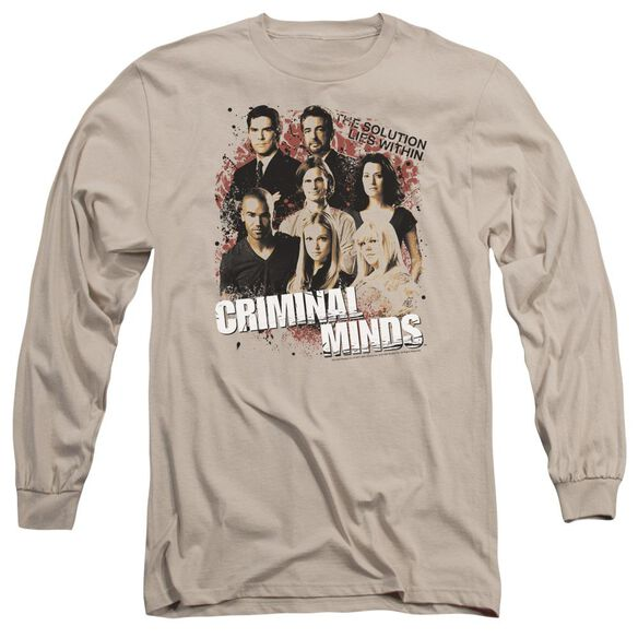 Criminal Minds Solution Lies Within Long Sleeve Adult T-Shirt
